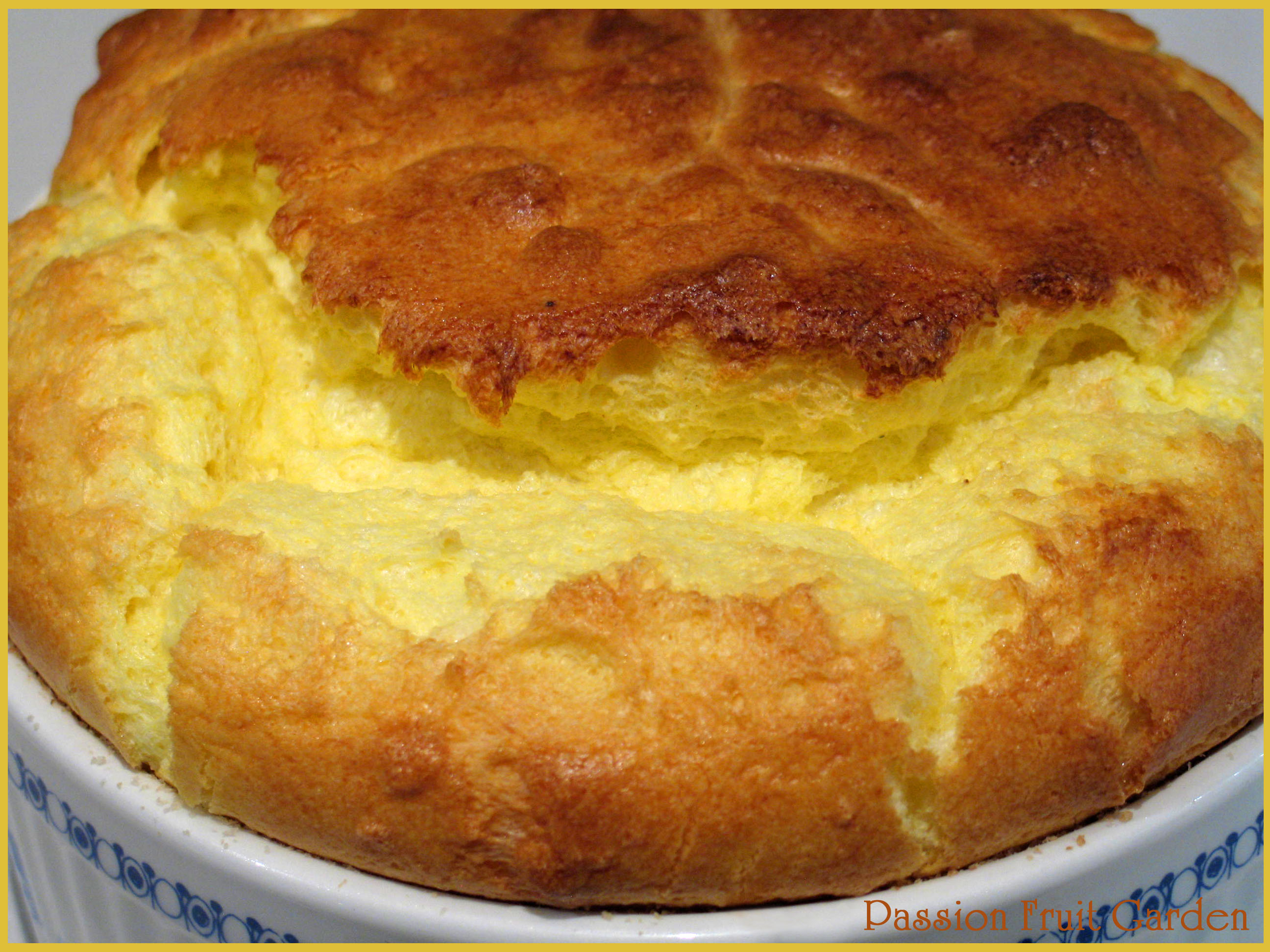 Cheese Soufflé | Passion Fruit Garden