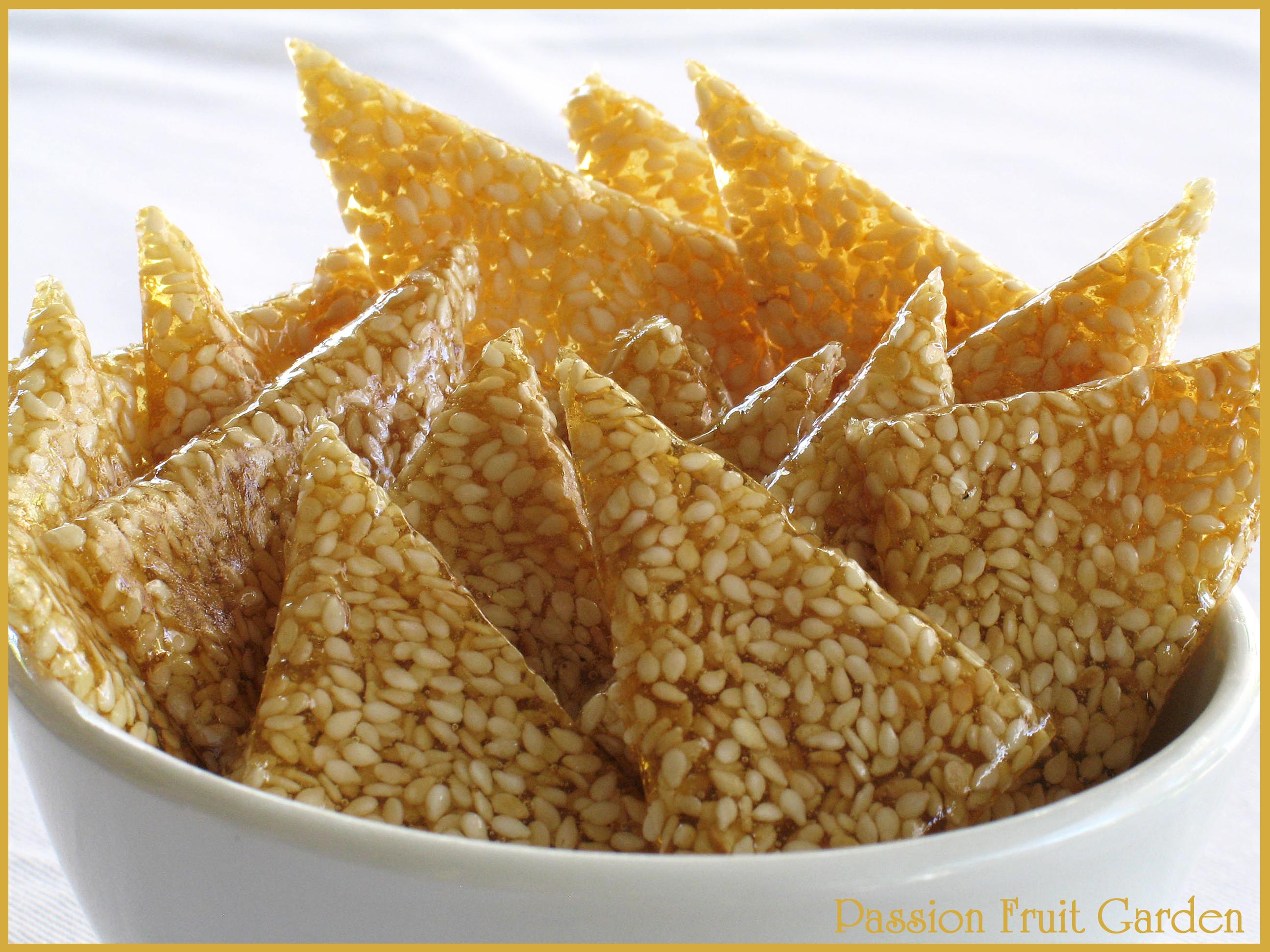 recipe food honey sesame cashew brittle sesame brittle brittle sesame ...