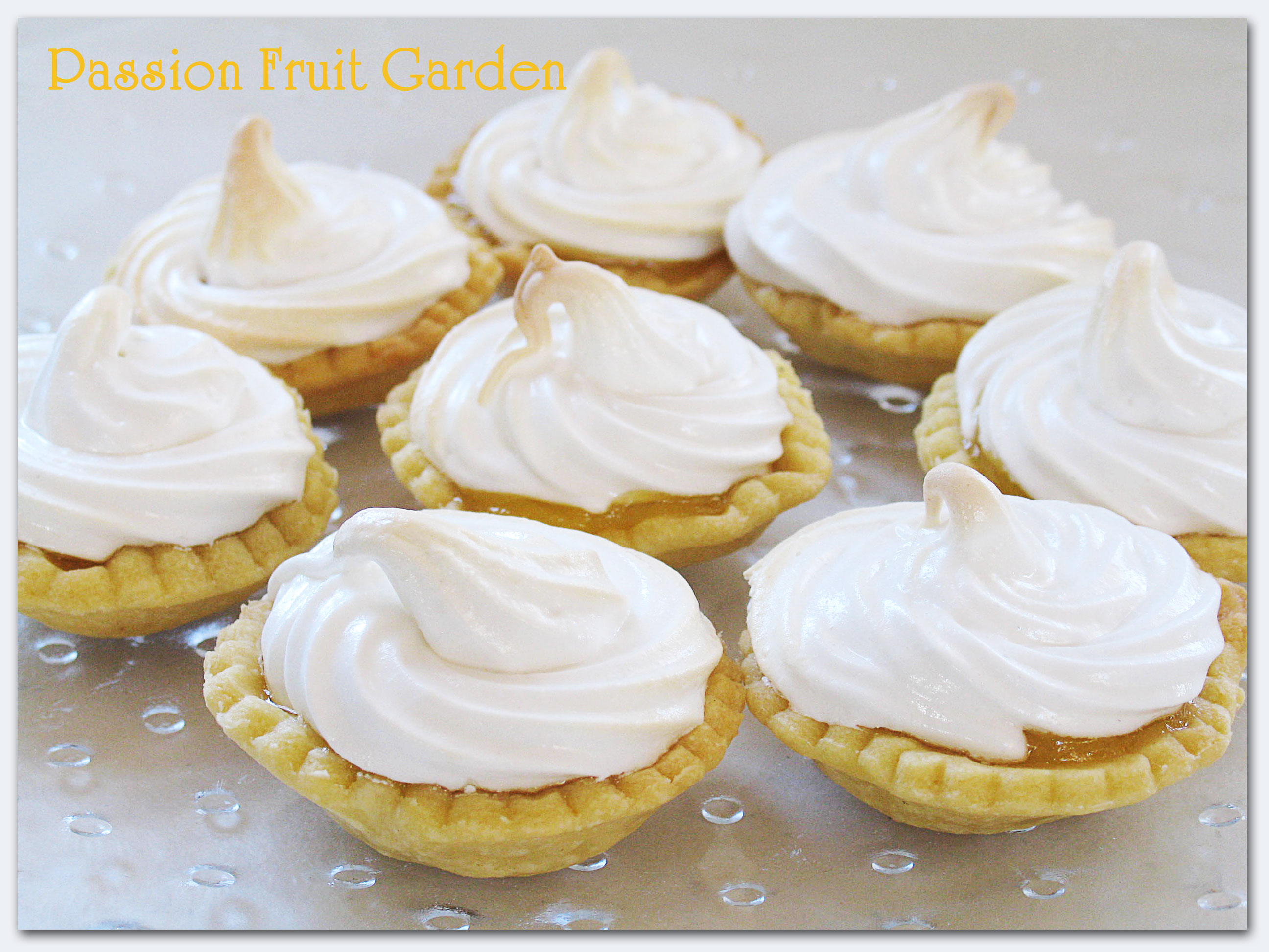 featured this picture of my mini lemon meringue pies in my last In ...