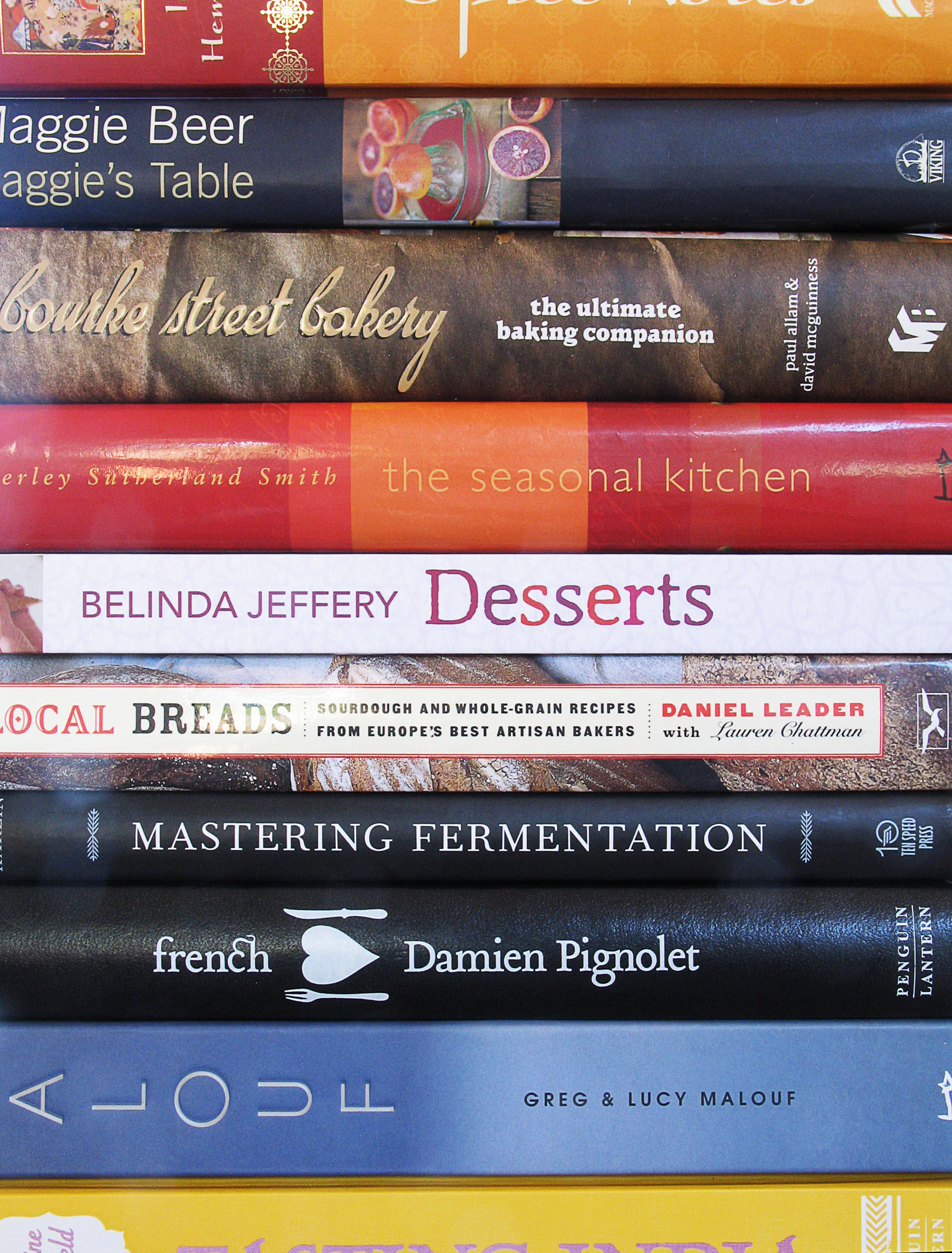 The Cookbook List
